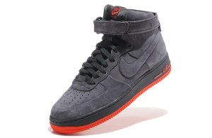 Nike Air Force 1 High VT Vac Tech Premium Anthracite Orange