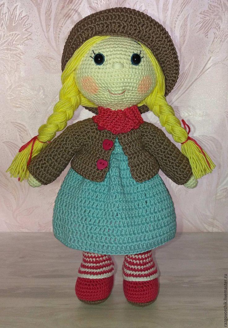 Купить Кукла Даша - кукла, куклы, кукла в подарок, куклы и игрушки, кукла интерьерная