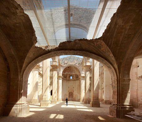 Tarragona, Spain 1 Huge Skylight Church restoration of the old church of Corbera d'Ebre, Terra Alta, Tarragona Ferran Vizoso, Núria Bordas