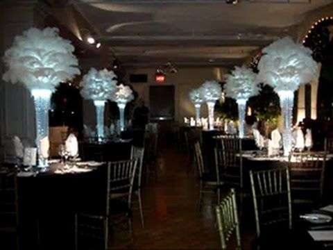 Rent 1920s Vintage Inspired Ostrich Feather Centerpieces Call For A Free Price Quote 631