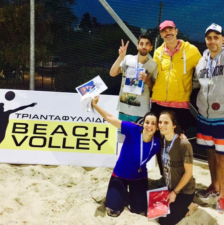 Triantafillidis beach volley mixed tour November