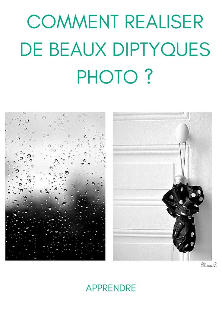 Comment réaliser de beaux diptyques photo