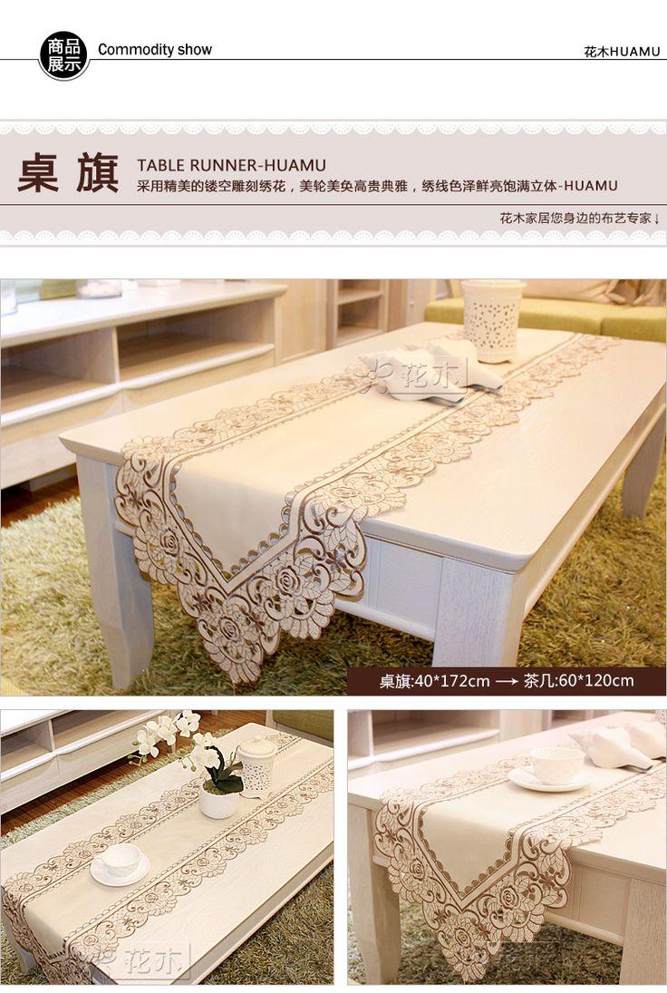 Цветы стол Бегун скатерть журнальный столик флаг кровать флаг флаг шкафа длинный коврик вырез вышитые ткани и элегантный темно-серый