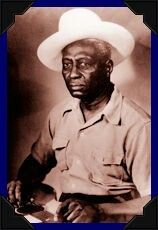 "LEAD BELLY Huddie William Ledbetter ""King of the 12-string Guitar""  Huddie (pronounced ""hoo-dee"") was of African and Cherokee descent and grew up in northern Louisiana and neighboring Texas.  In 1918 Ledbetter was sentenced to life in prison for killing a man in a fight. He was pardoned by the Texas governor in 1925,  Lead Belly was inducted into the Rock and Roll Hall of Fame in 1988"