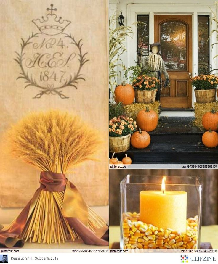 Thanksgiving Foyer Decor : Thanksgiving decorating ideas cool for home
