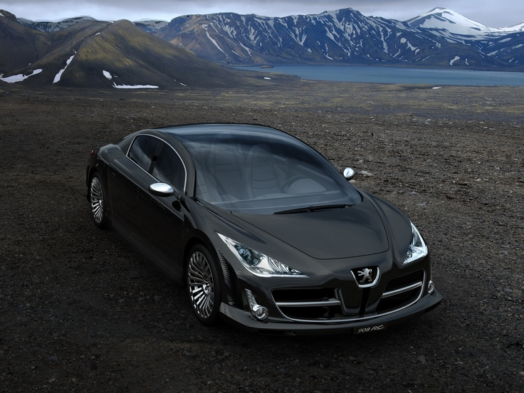 Hd Wallpaper For Backgrounds Peugeot  Rc Concept  Car Tuning Peugeot  Rc