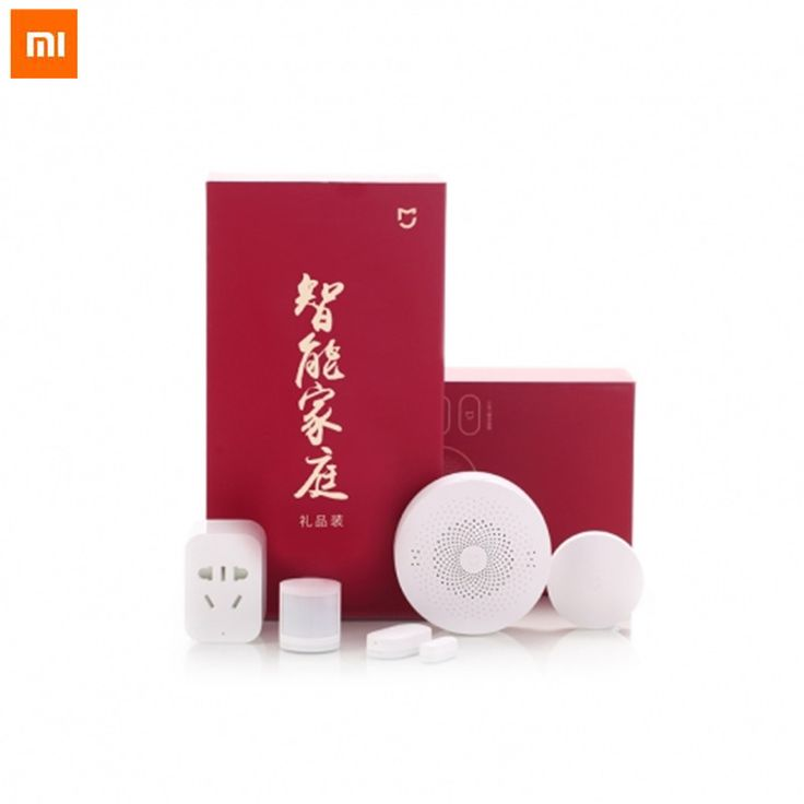>> Click to Buy << New Gift box Original Xiaomi Smart Home Kit Gateway Door Window Sensor Human Body Sensor Wireless Switch  Zigbee Socket Sets  #Affiliate