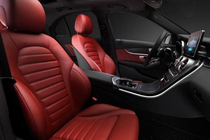 Mercedes C-Class 2014 interior front