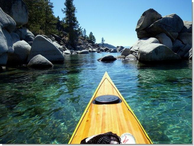 403 best cedar strip canoes kayaks images on pinterest for Lake tahoe fishing