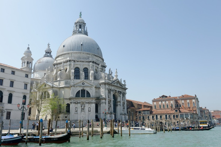Beautiful! The dome of the Salute in Venice Italy.