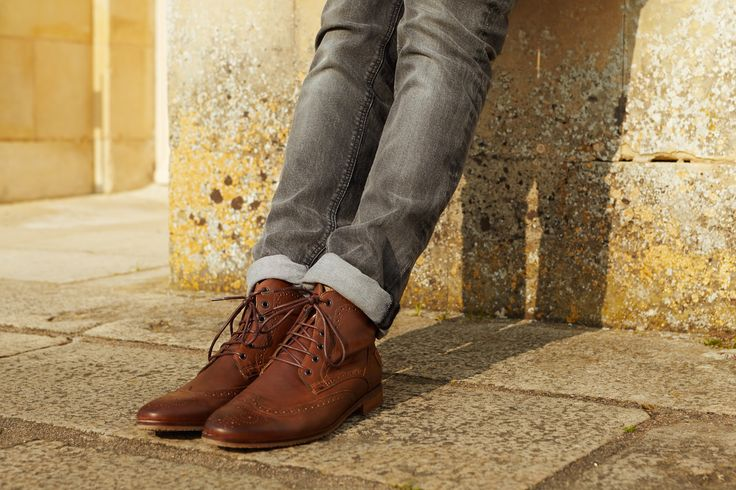 "KOST - KROCKYR / ""EXCLUSIVE ELEGANCE"" FROM FRANCE #kost #style #cognac #leather #madeinfrance #paris #boots #derbys #high #men #gq #elegance #chaussures #shoes"