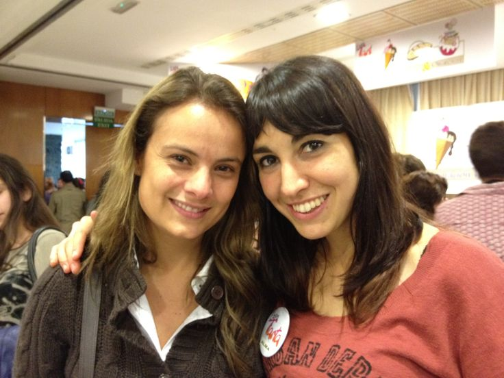 Conocí a Alma Obregón en Expotarta Madrid...que ilusión!!!