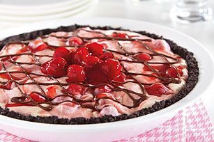 Cherry-Vanilla Ice Cream Pie recipe- kraft foods