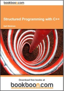 Structured Programming with C++ is intended as course material for the course Structured Programming with C/C++ at university level. It can also be used as self-learning material.    Each chapter contains theoretical parts and programming examples. At the end of each chapter there is a bunch of exercises for your practice. At the end of the book you will find solutions to the exercises.
