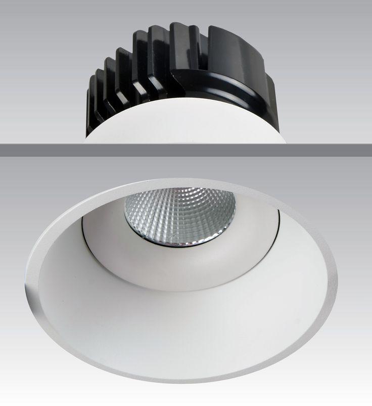 Slimline Edges LED #downlights  #Haneco #Lighting #LED #lights #commercial #office #home #decor #energyefficient