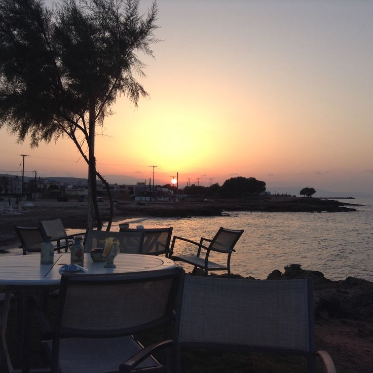 Sunset at Gouves Crete
