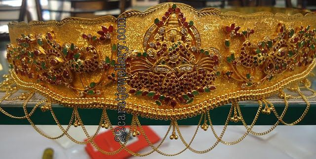Jewellery Designs: Oddiyanam (vaddanam) by Premraj Jewellers