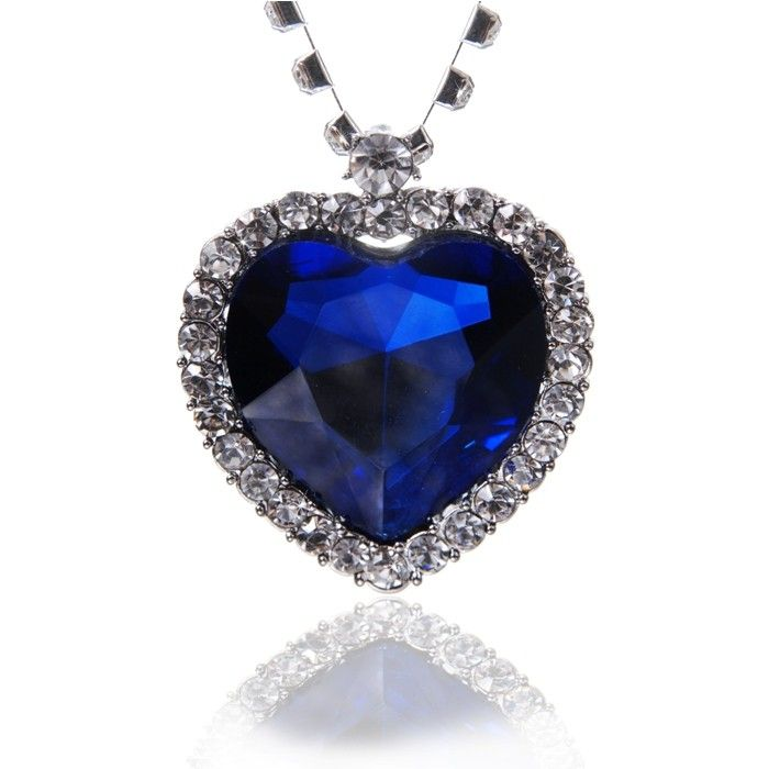 Titanic colier sapphire necklace borealy jewelry