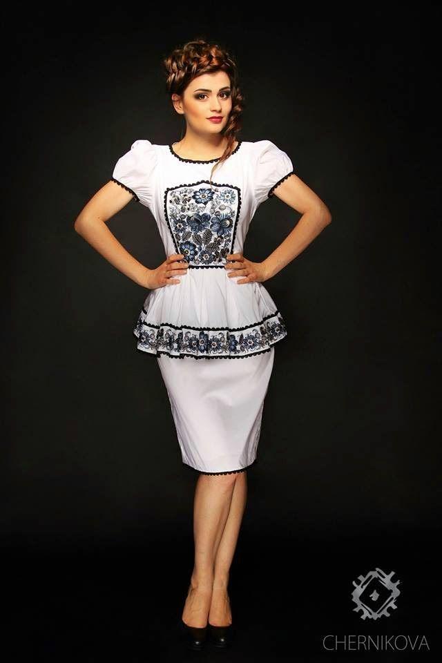 Fashion from Ukraine: Ukrainian ethno style - Chernikova