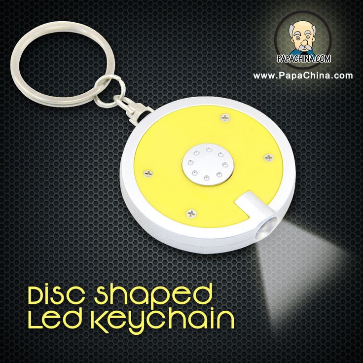 Making use of the product named Disc Shaped Led Keychain by your customers, gives your company name a great amount of promotion whenever your customers are using it for holding keys, visibility in dark which is very simple and well featured.
