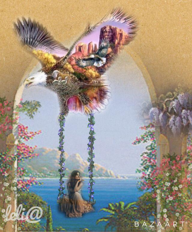 O Voo da Águia...      The Flight of the Eagle... - Lelia  Sarda