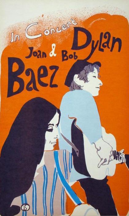 #Bob Dylan #Joan Baez