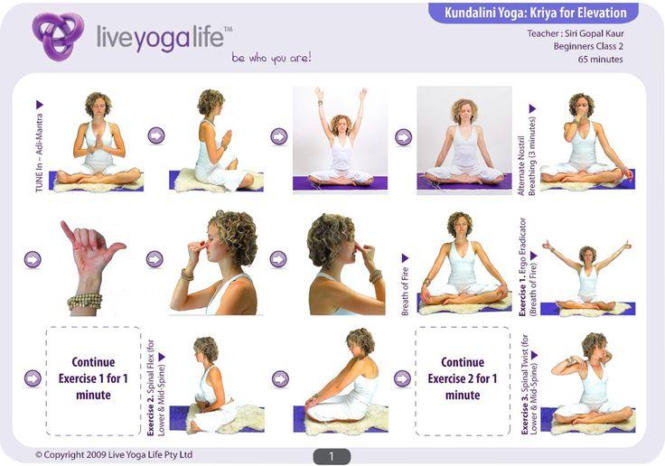 Kundalini yoga | Kundalini Yoga Beginners Complete Set