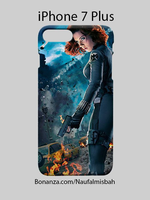 Black Widow The Avengers iPhone 7 PLUS Case Cover Wrap Around