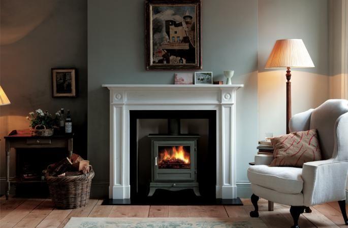 log burner fireplace designs victorian - Google Search