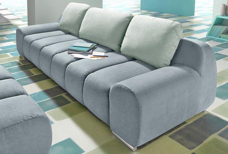 die besten 25 big sofa grau ideen auf pinterest sofas. Black Bedroom Furniture Sets. Home Design Ideas