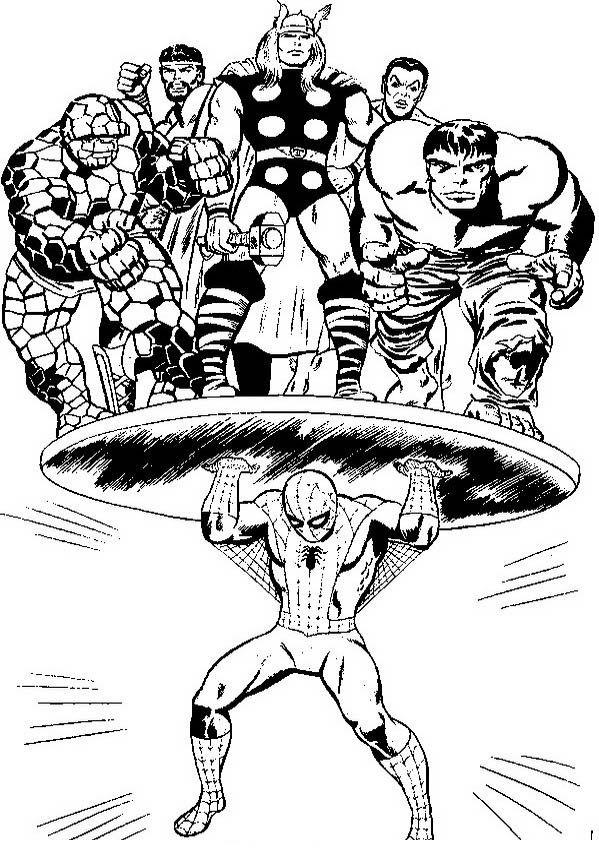 spiderman 2 dibujos faciles para dibujar para niños
