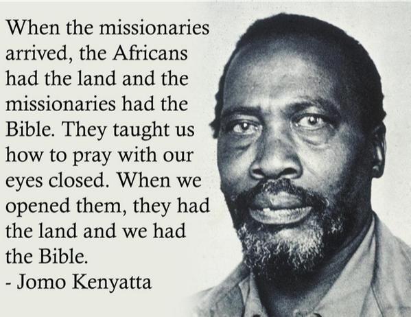 Kenyatta #auspol