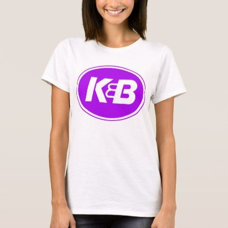 Ladies K&B Purple on Gold T-Shirt - click to get yours right now!