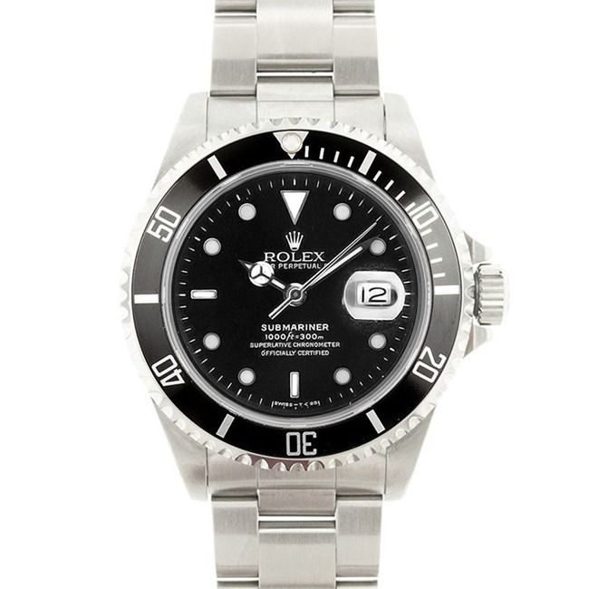Used Pre-Owned Rolex Men's Submariner Dial Watch