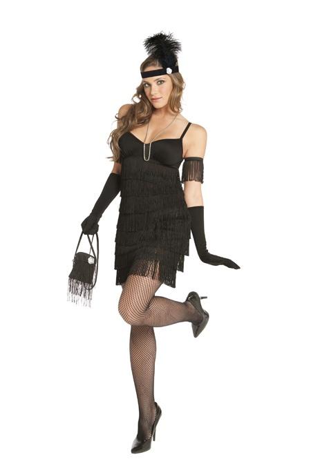 """Fringe Benefits"" Halloween Costume  ITEM # 9214   www.elegantdollz.com"