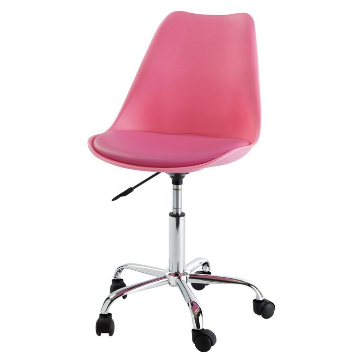 DAS IST ER ODER?????? Schreibtischstuhl rosa BRISTOL Maisons du monte