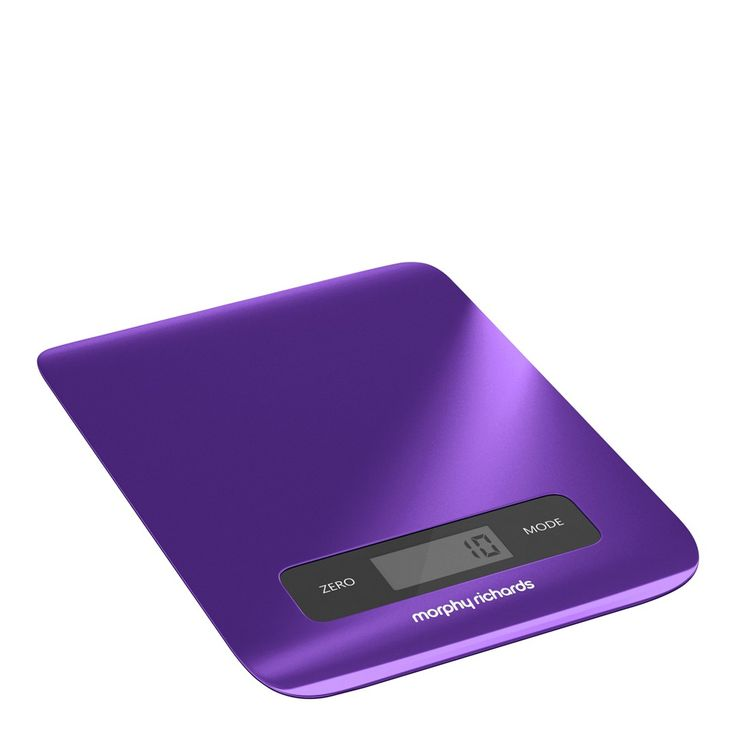 Deep Purple Electronic Kitchen Scales