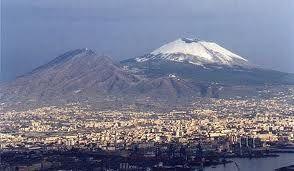 Il Vesuvio col vestito bianco