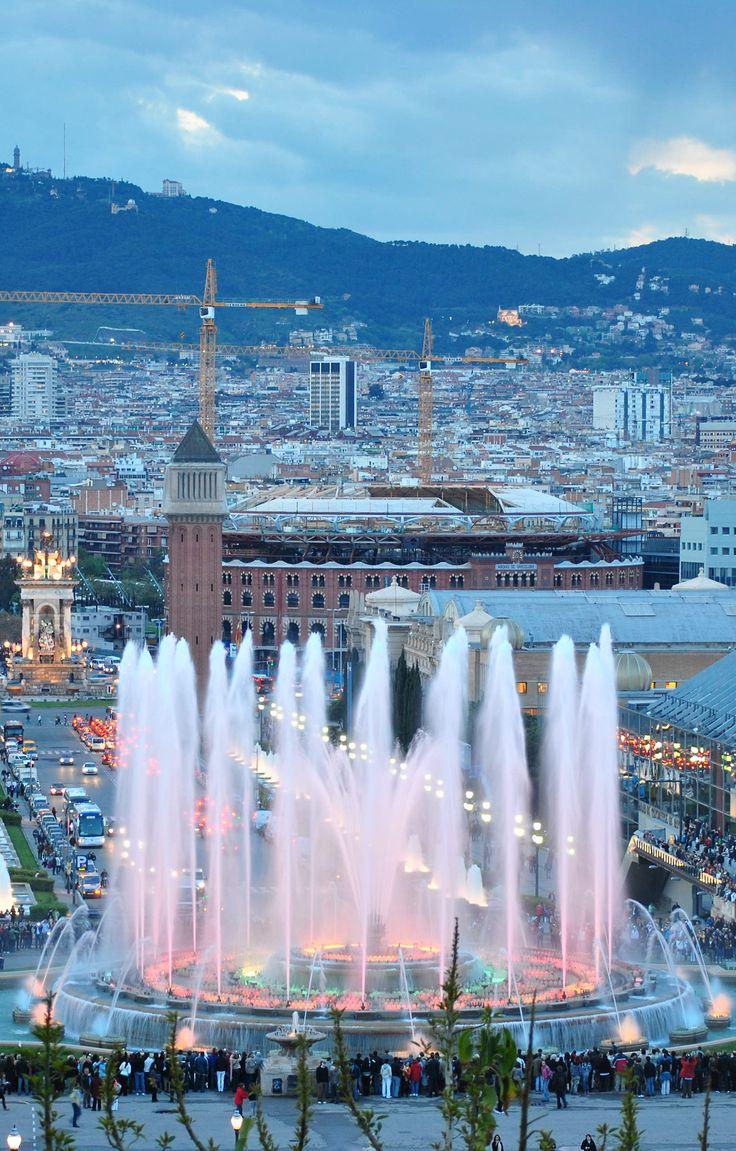 Font de Montjuïc, Barcelona (Spain)