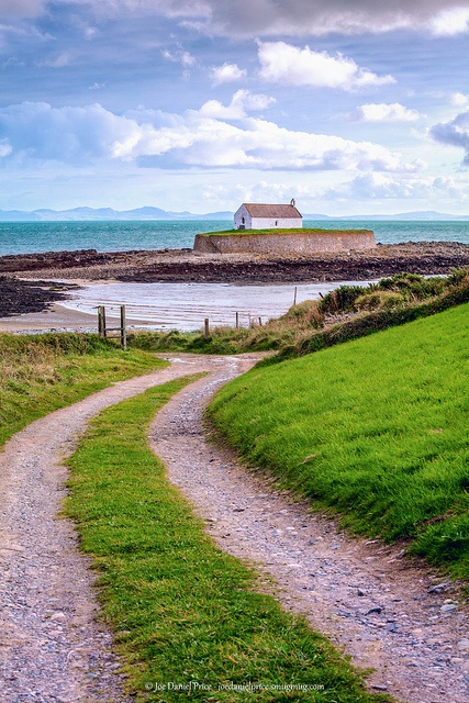 St Cwyfan's Church, Church on the Island, Anglesey, Wales