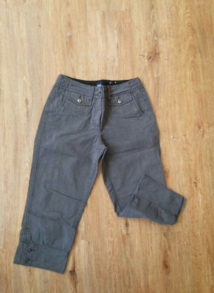 Hose Jeans Damen Cecil 28 Grau Baumwolle!