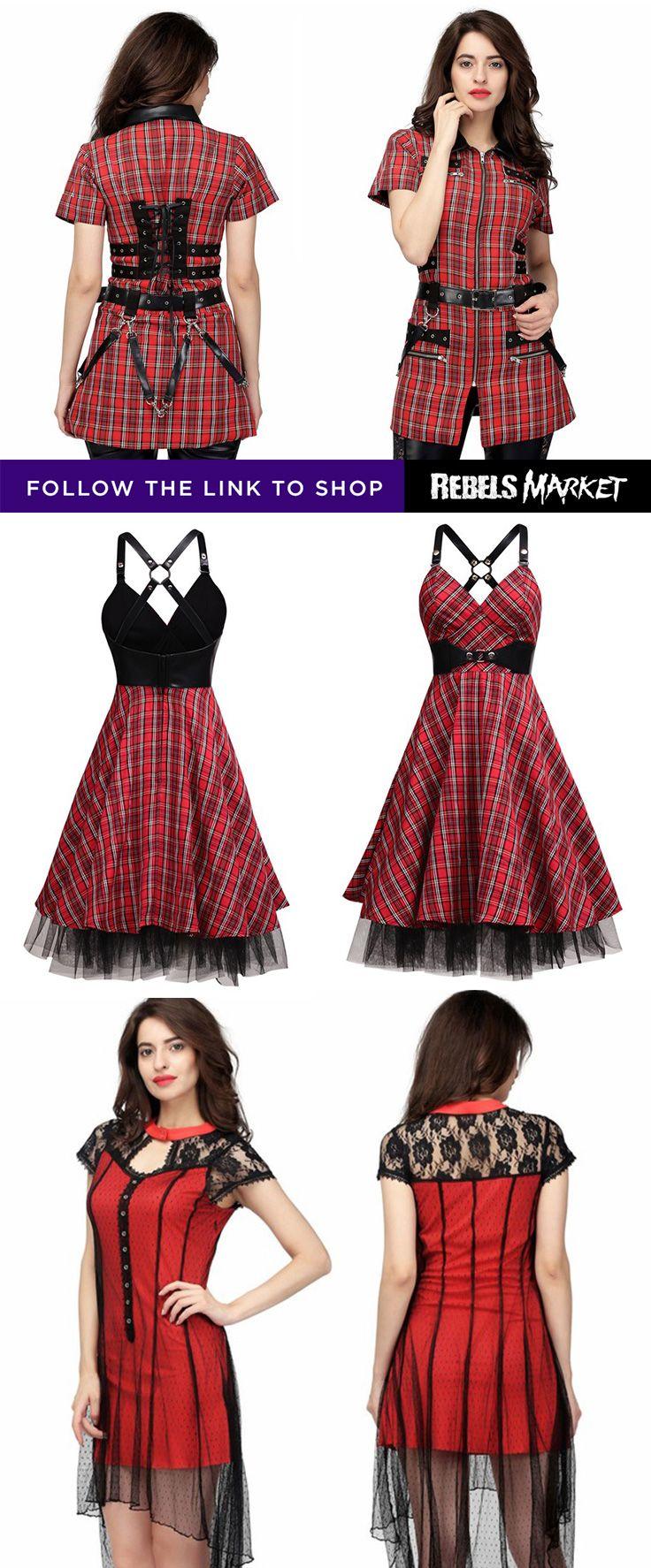 Shop gothic dresses online at RebelsMarket.