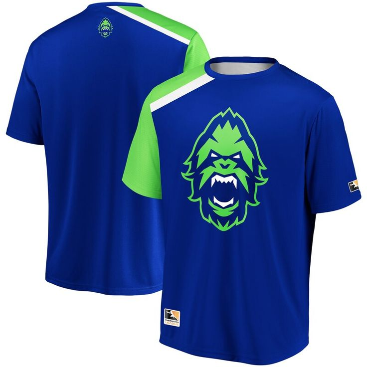 Vancouver Titans Overwatch League Replica Home Jersey Blue In 2020 Vancouver Canucks Logo Football Jersey Shirt Overwatch