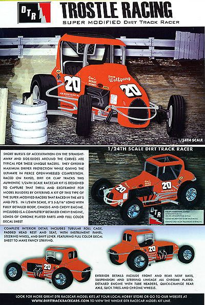 Other Sports Car Models and Kits 2583: Trostle Racing #20 Modified
