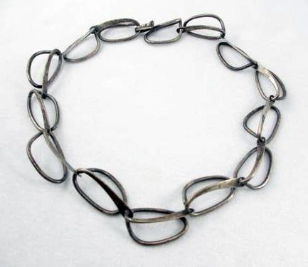 Necklace | Art Smith. Sterling silver. ca. mid 1900s