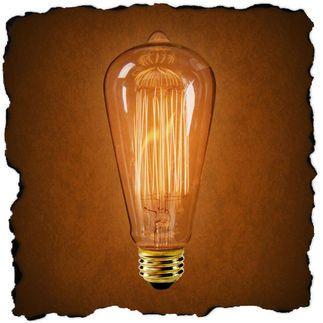Vintage Antique Edison Style Light Bulb $5.88 each