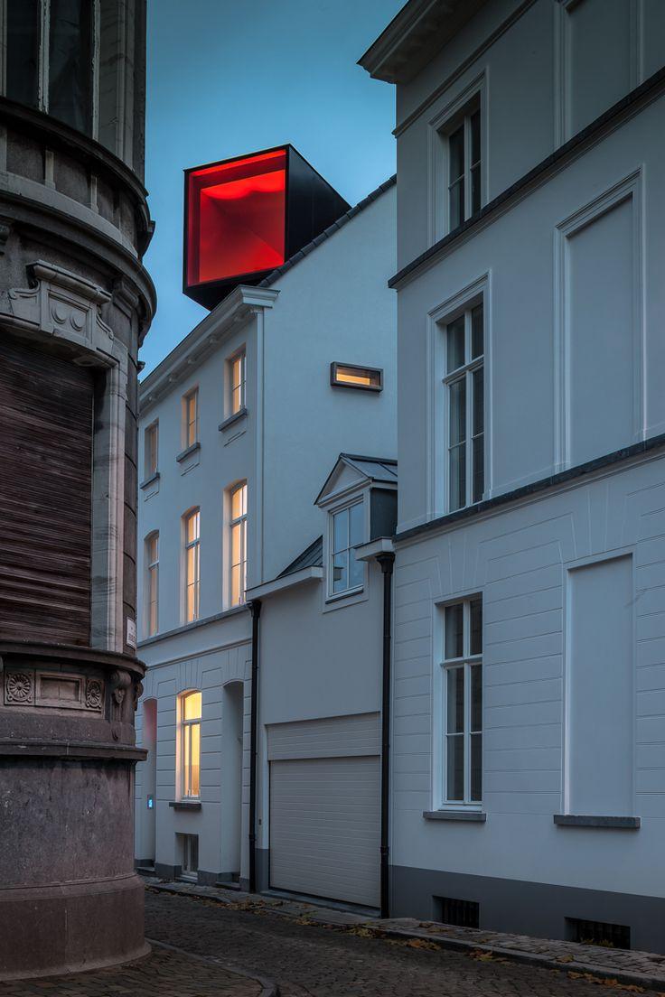 room on the roof: collective housing in brioolstraat by CAAN architecten http://www.creativeboysclub.com/