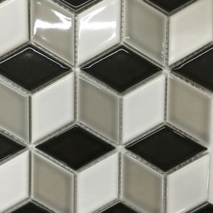 Mixed Diamond Mosaics - Products - Surface Gallery #mixeddiamondmosaic #mixed #diamond #mosaics