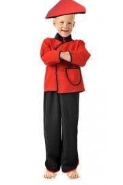 Çinli Kostümü Erkek Çocuk, Erkek Çocuk Kostümleri, Ülke Kostümleri,Erkek Çocuk Ülke Kostümleri,
