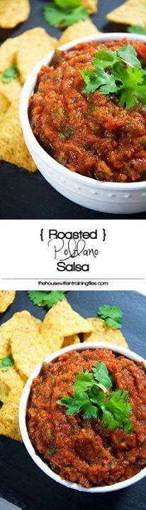 Roasted poblanos sal Roasted poblanos salsa Recipe | Vegans Sweets Mexicans Hispanic Homemade Fresh Easy Blender Spicy Recipe : http://ift.tt/1hGiZgA And @ItsNutella  http://ift.tt/2v8iUYW  Roasted poblanos sal Roasted poblanos salsa Recipe | Vegans...